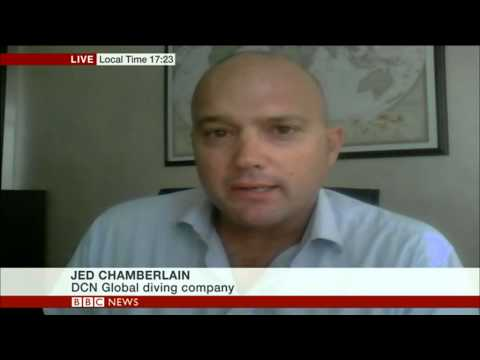 Amazing Atlantic Ocean rescue - BBC World News interview