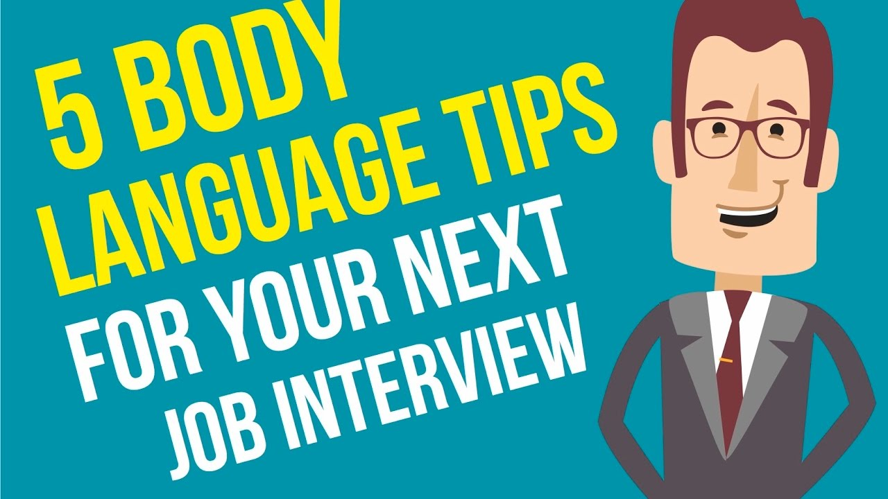 5 body language tips for your next job interview - Preparing For A Job Interview Body Language