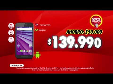c631d821f5c abcdin - Celular Motorola Moto G 3ra Generación - YouTube