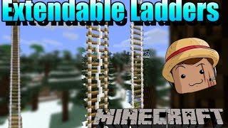 Minecraft Mod [ Extendable Ladders ] 1.7.10  Nuevas escaleras