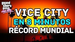 ¡ÉL TERMINÓ VICE CITY EN 8 MINUTOS!