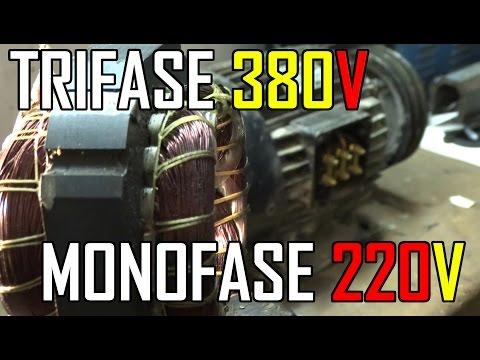 Schema Elettrico Motore Monofase Avanti Indietro : Come trasformare un motore da trifase a monofase fai da te mania