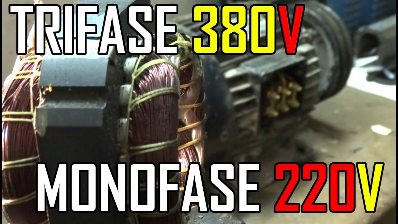 Convertire Motori Trifase 380v In Monofase 220v