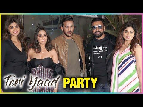 Anita Hassanandani, Rohit Reddy, Shilpa Shetty Raj Kundra | Teri Yaad SONG Launch Party