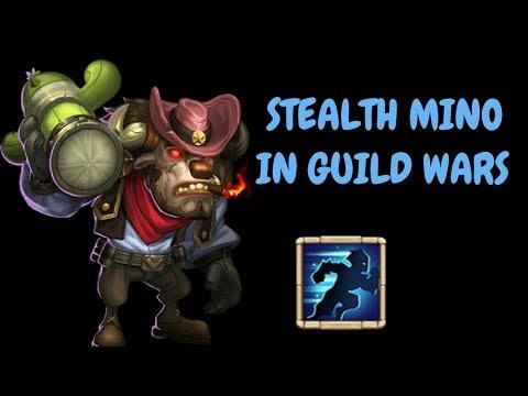 Stealth Mino In Guild Wars L Castle Clash