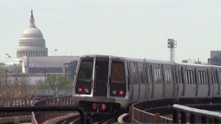 ᴴᴰ Washington Metro: Red Line Action at Rhode Island Avenue