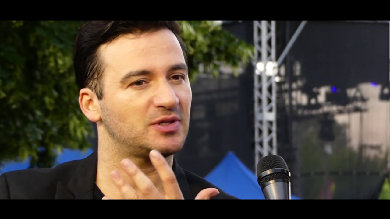Stefano Terrazzino na Backstagu Dni Kwidzyna