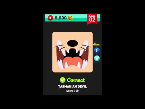 Icon Pop Quiz - Characters - Level 2 Complete Answers Walkthrough