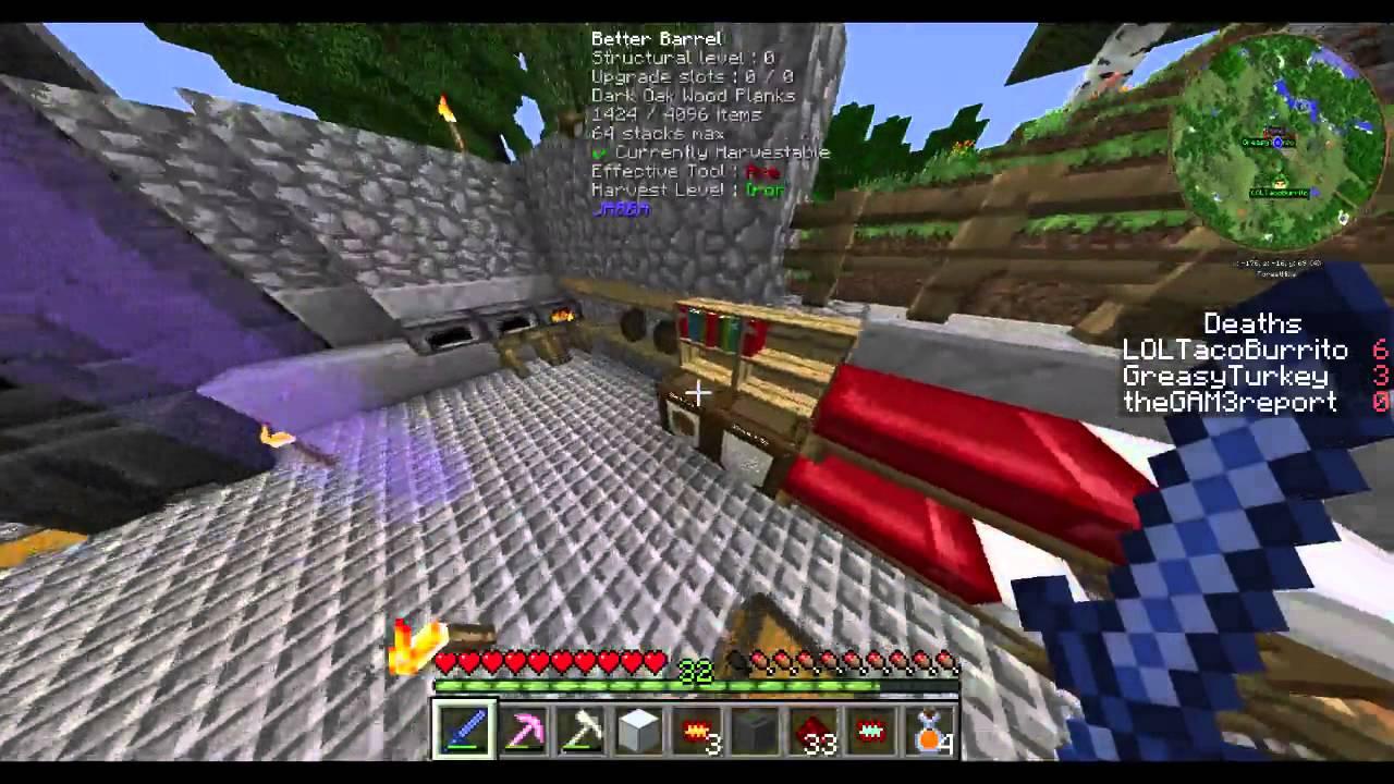 Minecraft: FTB Infinity Evolved Expert Mode 10 - MACERATOR YAY AND ...
