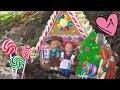 Video infantil del cuento de hadas Hansel y Gretel con muñecas Barbie