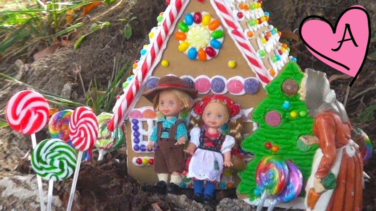 Cuento Hansel y Gretel en español | Muñecas y juguetes con Andre ...