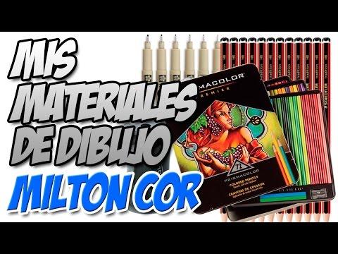 Mis Materiales de Dibujo - Prismacolor - Sakura - Steadtler | Milton Cor