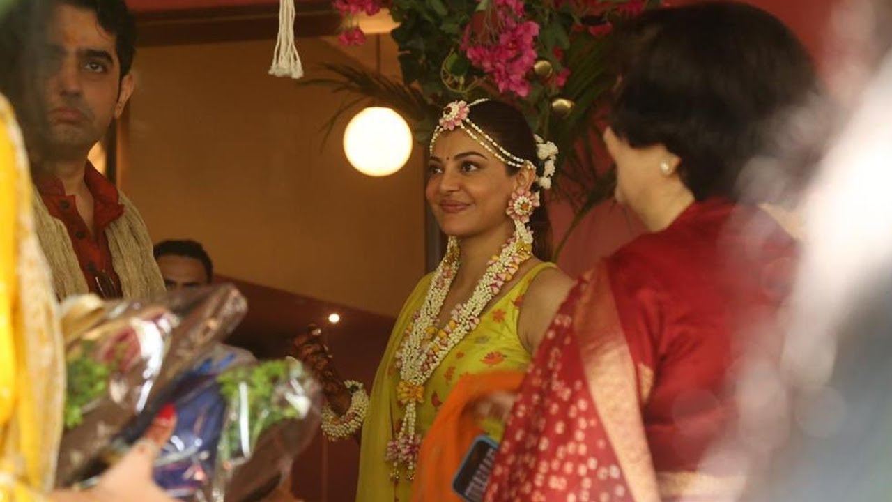 Kajal Aggarwal Marraige Video Photo Visuvals | Kajal Marriage | Trending Poster