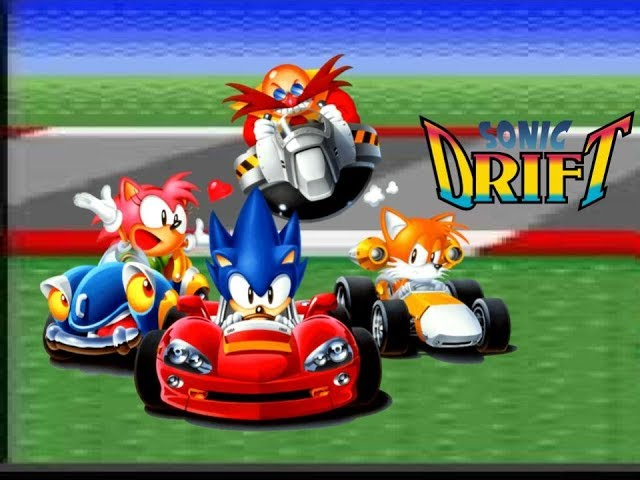 Sonic plays Sonic Drift