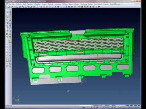 Automotive Core & Cavity creation - Step 5