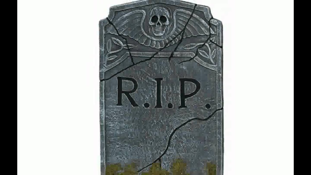 halloween decorations tombstones - youtube