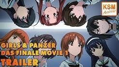 Girls und Panzer Das Finale Movie 1 TRAILER - Deutsch (German)