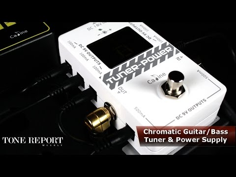 Caline Power Supplies and Effects Pedals