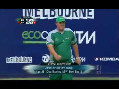 Australian Open 2011 Mens Pairs Final - Lawn Bowls