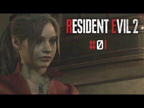 Resident Evil 2 #01 Horror na Delegacia