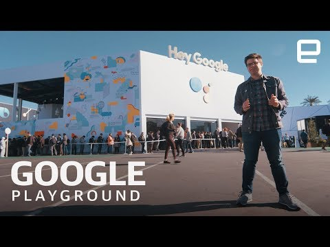 Inside Google's Insane Playground Installation at CES 2019