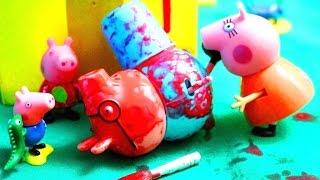 peppa pig свинка пеппа и ее семья мультфильм для детей пеппа новая серия покраска