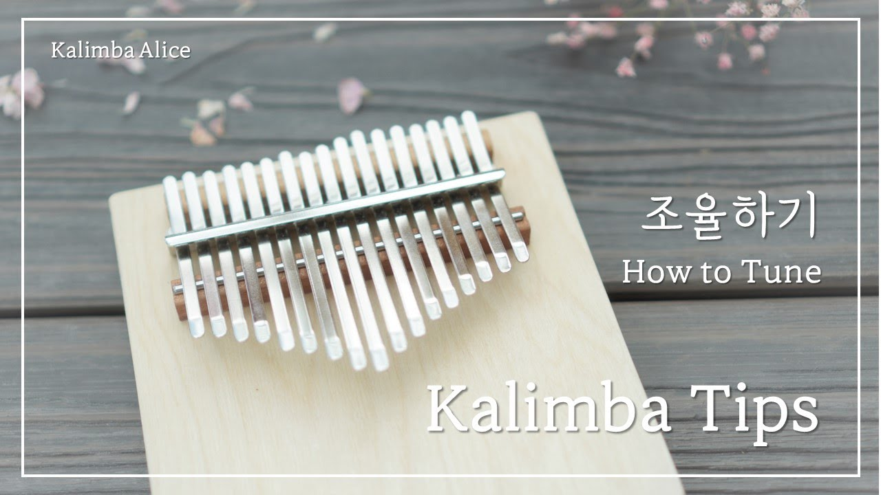Kalimba Tips. [칼림바 조율하기] How to tune