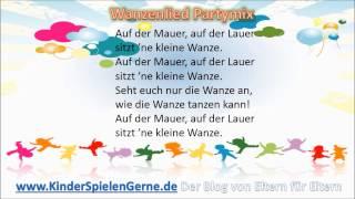Auf der Mauer auf der Lauer Kinderlied Partymix instrumental
