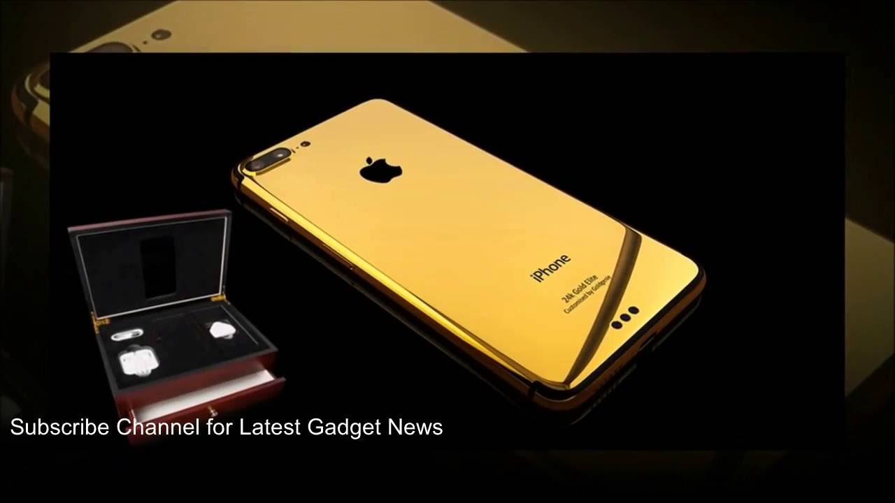 Gilded iPhone 7, 7 Plus and 7 Pro 256GB Pre-Orders in Dubai - Specs,  Features, Prices