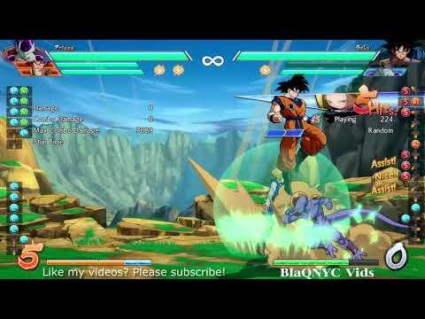 Safe Level 3 Spirit Bomb Charge (A18, Goku, Frieza)