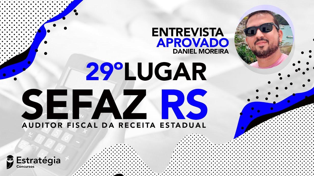 Aprovado na Sefaz RS dá DICAS ESSENCIAIS para a conquista do tão sonhado fisco.