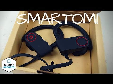 SMARTOMI Bluetooth Headphones Review - Waterproof Earbuds