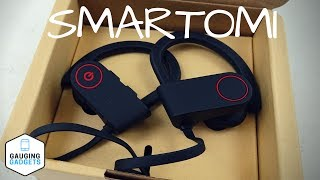 SMARTOMI Bluetooth Headphones Review – Waterproof Earbuds