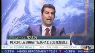 """Federico sannella,corporate affairs director di birra peroni, ospite janina landau nel programma """"motore italia"""" dell'8 maggio 2015. si parla della storia..."""