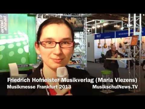 Friedrich Hofmeister Musikverlag - VdM-MusikschulNews Musikmesse 2013