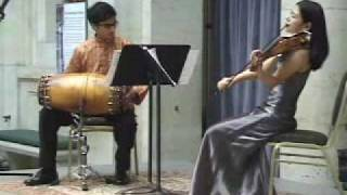 Violin and Indian Percussion- Rohan & Ayano
