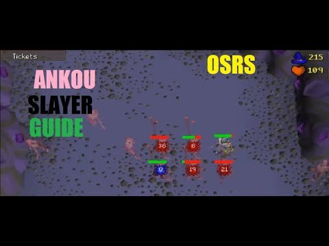 [OSRS] Ankou Barraging Slayer Guide 70K+ Slayer XP Per Hour