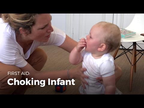 First Aid: Choking Infant | First Aid