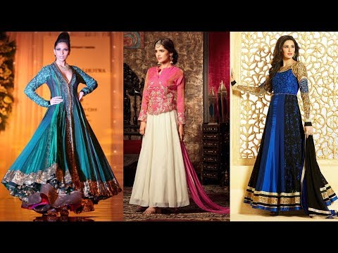 Long Anarkali Gown Dress Designs 2017 (Part 51)