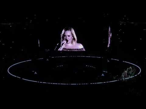 Adele - Someone Like You - Melbourne Live 2017 (Closing Concert + funny talk to audience )