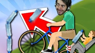 Happy Wheels 🌟 IMPOSSIBLE BOTTLE FLIP COMPLETE 🌟 -Happy Wheels Funny Moments (Gameplay Challenges)