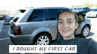 i bought my first car   range rover
