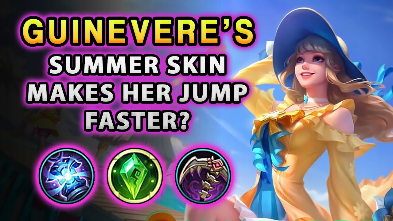 This Very Modest Summer Skin For Guinevere Makes Her Jump Faster? | Mobile Legends