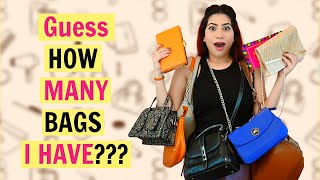Guess How Many BAGS 👜  I HAVE? Part 2*** | Anishka Khantwaal |