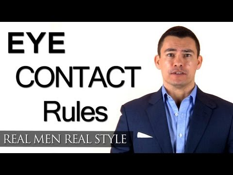 Eye Contact Rules - How Eye Contact Conveys Interest Trust & Attraction - Eye Contact & Culture