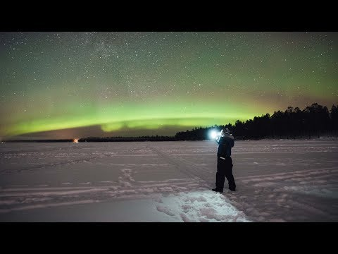 Finally saw the northern lights! | Finland Travel Vlog 04
