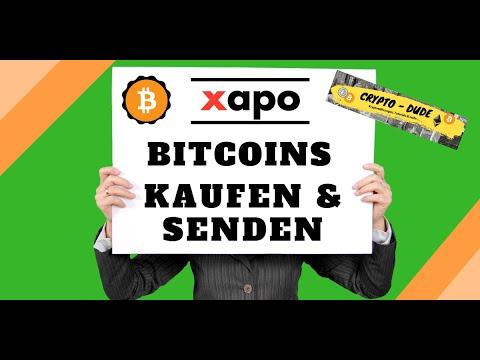Xapo Bitcoin Kaufen Und Senden   XAPO Anleitung Deutsch 2017