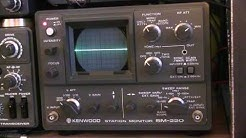 #250: Kenwood SM-220 Station Monitor Demo / Overview