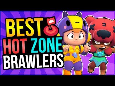 Top 5 BEST Brawlers For HOT ZONE! Brawl Stars Update Sneak Peek!