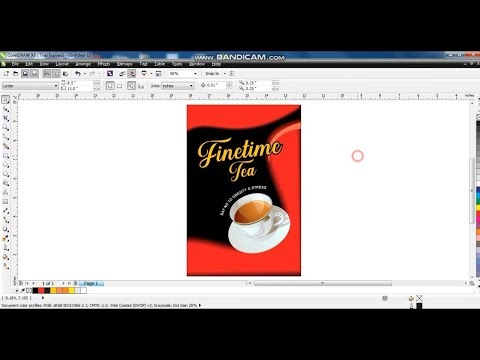 Product Packaging Design Tutorial / Learn corelDRAW with Ahsan Sabri thumbnail